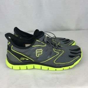 FILA Skele Toes Mens 13 Gray Running Water Shoes